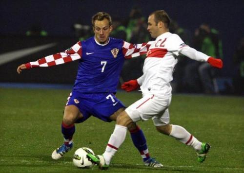 Croacia eliminó a Turquía. Foto:lainformacion.com/EFE