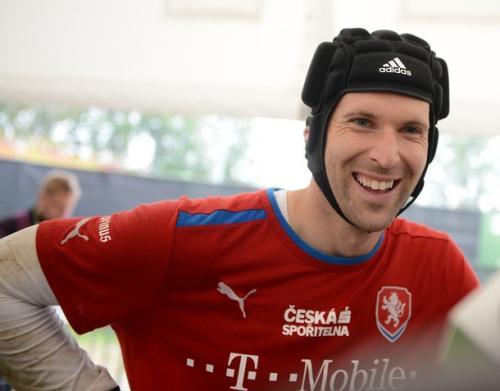 La estrella checa: Cech. Foto: twitter.com