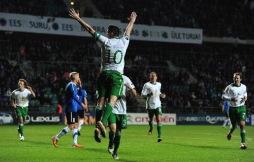 Robbie Keane triunfó en Tallin. Foto:lainformacion.com/Getty Images/J.McDonald