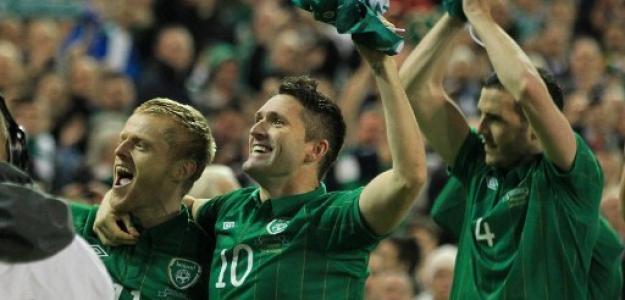 Irlanda celebra su presencia en la Eurocopa 2012