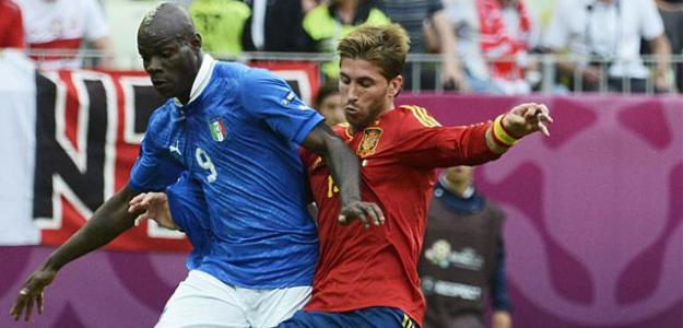 España-Italia en la Eurocopa 2012
