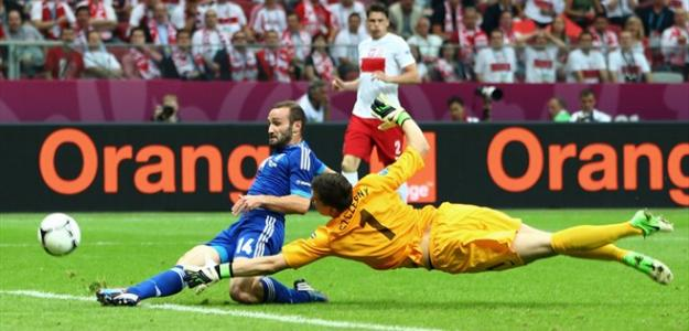 Grecia en la Eurocopa 2012