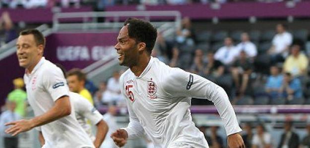 Lescott marca con Inglaterra contra Francia en la Eurocopa 2012
