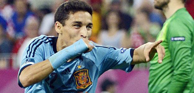 Navas marca contra Croacia. Foto: lainformacion.com