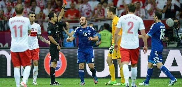 Polonia contra Grecia