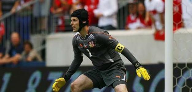 Cech, peleará por clasificarse. Foto:lafinformacion.com/Getty Images