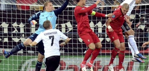 Alemania se mantuvo a cero contra Portugal. Foto:lainformacion.com/EFE