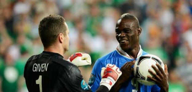 Balotelli contra Irlanda. Foto: lainformacion.com