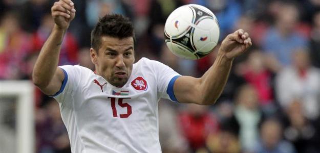Milan Baros en la Eurocopa 2012
