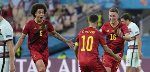 Bélgica y República Checa a cuartos de final. Foto: gettyimages