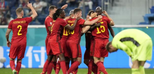 Bélgica, Eurocopa 2021 octavos de final. Foto: gettyimages