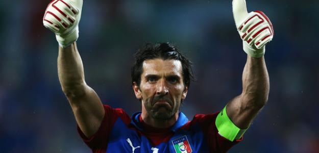 Buffon en la Eurocopa 2012