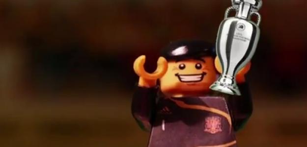 'Lego Casillas' levanta la Eurocopa 2008