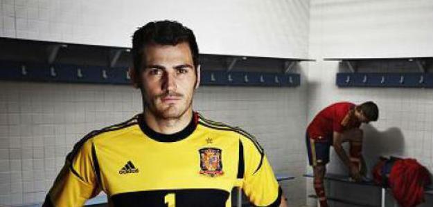 Iker Casillas con España
