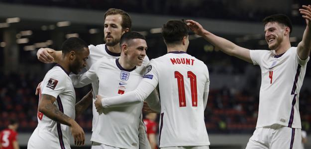 Inglaterra en Eurocopa 2021. Foto: gettyimages