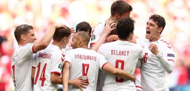 Dinamarca e Italia, opciones título Eurocopa 2021. Foto: gettyimages