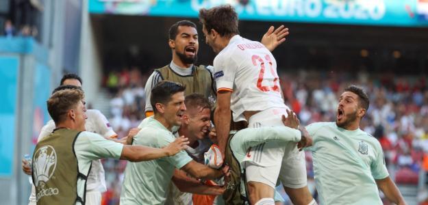 España y Suiza, cuartos de final Eurocopa 2021. Foto: gettyimages