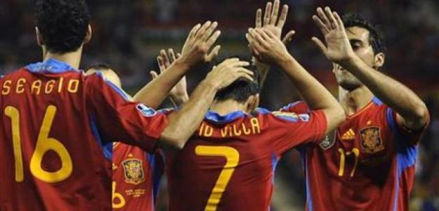 España celebra gol/lainformacion.com/Reuters