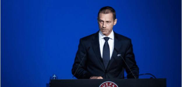 Aleksander Ceferin comunica suspensión Eurocopa 2020. Foto: gettyimages