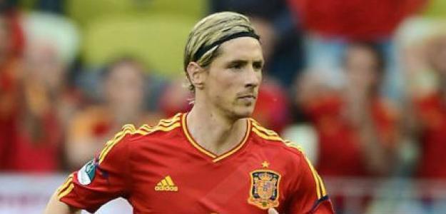 Fernando Torres marca contra Irlanda en la Eurocopa 2012