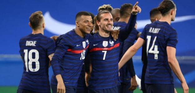 Francia, favorita ante Alemania en Eurocopa 2021. Foto: gettyimages