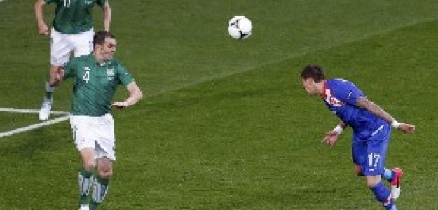 Gol de Croacia contra Irlanda