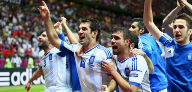 Grecia celebra el pase a cuartos