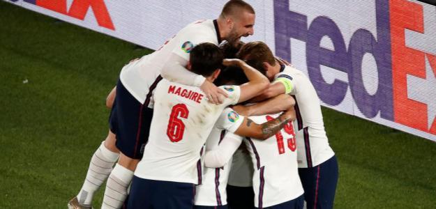 Inglaterra vs Dinamarca, análisis y predicciones. Foto: gettyimages