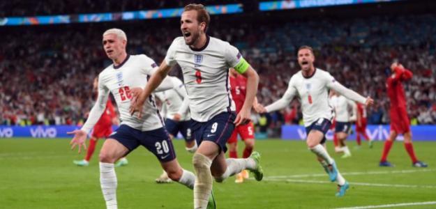 Inglaterra, polémica victoria sobre Dinamarca en Eurocopa 2021. Foto: gettyimages