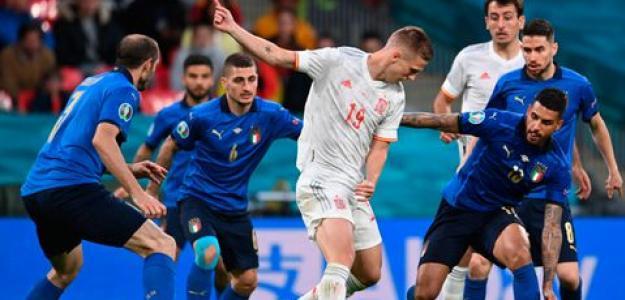 Italia, finalista Eurocopa 2021. Foto: gettyimages