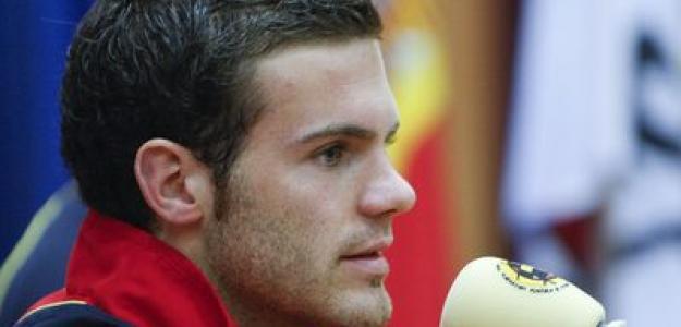 Juan Mata con España