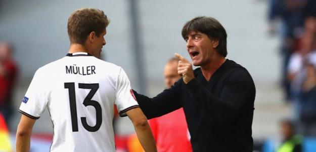 Joachim Löw y Muller, fin de ciclo Alemania. Foto: gettyimages