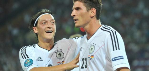 Mario Gómez, 2 goles, es el máximo artillero de la Eurocopa. Foto:twitter.com