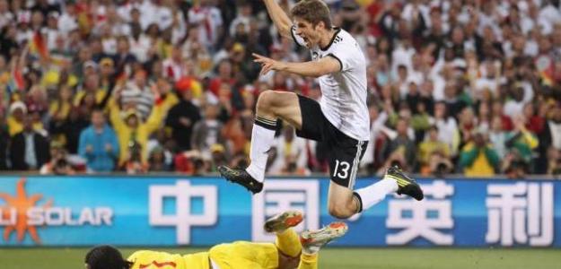 Muller celebra un gol. Foto:lainformacion.com/Getty Images