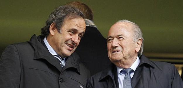 Michel Platini y Joseph Blatter/lainformacion.com