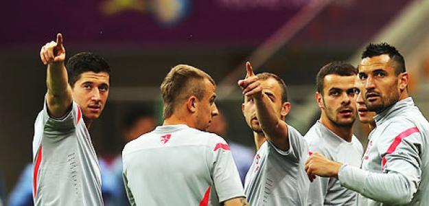 Polonia entrenando. Foto: Guardian