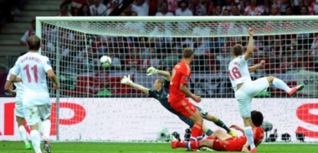 Polonia contra Rusia en la Eurocopa 2012