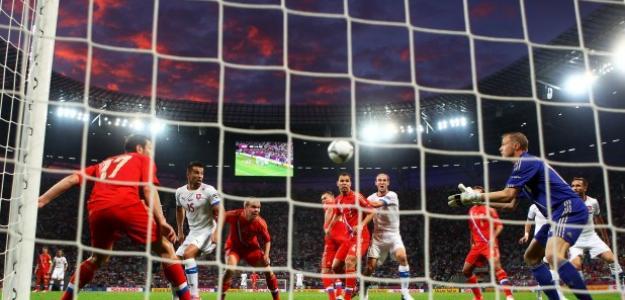 Rusia en su debut en la Eurocopa 2012