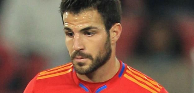 Cesc Fábregas, jugador de España