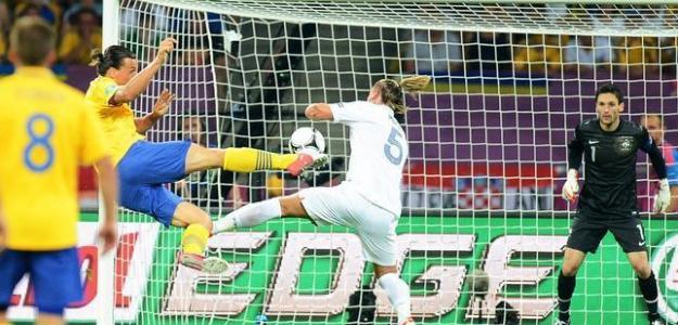 Suecia-Francia en la Eurocopa 2012