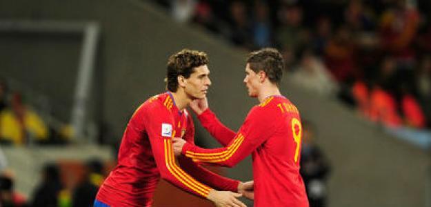 Fernando Llorente y Fernando Torres