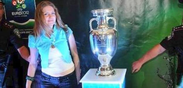El Trofeo de la Eurocopa 2012