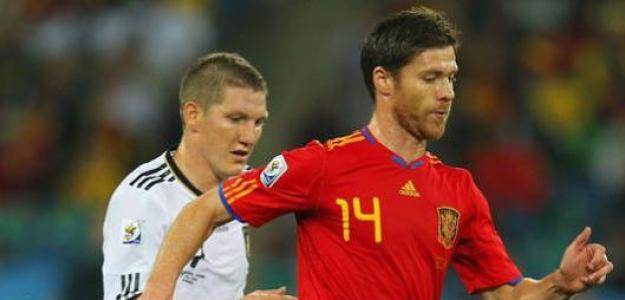 Alemania contra España. Foto: lainformacion.com