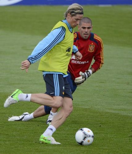Fernando Torres con la selección española. Foto:twitter.com